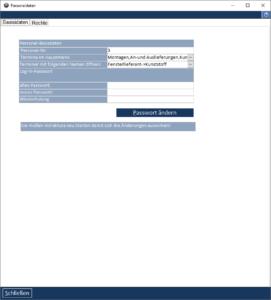 Formular Personaldetails